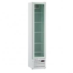 Vitrina frigorifica Klimaitalia Thin Cooler, capacitate 160 l, temperatura 0/+10°C, alb