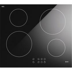 Plita inductie incorporabila ILVE Pro Line KHVI60, 60 cm, 4 zone gatit, booster, senzor pan, sticla ceramica neagra