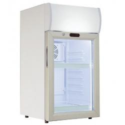 Vitrina frigorifica Klimaitalia CL 80 VGC, capacitate 80 l, temperatura 0/+10°C, alb