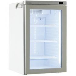 Vitrina frigorifica Klimaitalia I COOL 30, capacitate 125 l, temperatura 0/+10°C, alb