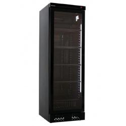 Vitrina frigorifica Klimaitalia I COOL 40 G BLACK, capacitate 342 l, temperatura 0/+10°C, negru