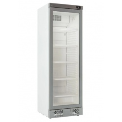 Vitrina frigorifica Klimaitalia I COOL 40 G WHITE, capacitate 342 l, temperatura 0/+10°C, alb
