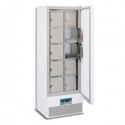 Vestiar frigorific Tecfrigo Break 444 S, putere 850 W, 384 litri, lungime 66.5 cm, +3/+8°C, alb