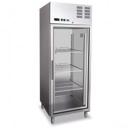Vitrina frigorifica profesionala Tecfrigo AGE FA 700 NT, capacitate 685 litri, -18/-22°C, inox