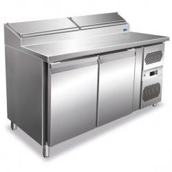 Masa rece pentru fastfood Tecfrigo Fastfood FA 151/80, putere 280W, +2+8°C, inox