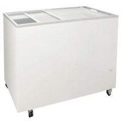 Congelator orizontal Klimaitalia FR 200 PFF K, capacitate 168 l, temperatura -13 / -23°C, alb
