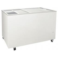 Congelator orizontal Klimaitalia FR 300 PFF K, capacitate 261 l, temperatura -13 / -23°C, alb