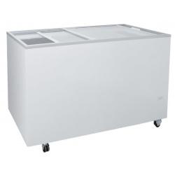 Congelator orizontal Klimaitalia FR 400 PFF K, capacitate 355 l, temperatura -13 / -23°C, alb
