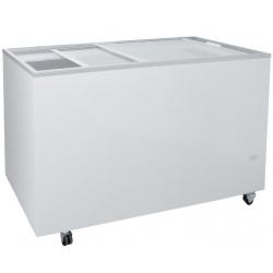 Congelator orizontal Klimaitalia FR 500 PFF K, capacitate 436 l, temperatura -13 / -23°C, alb