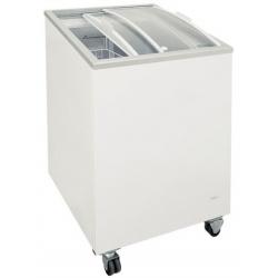 Congelator orizontal Klimaitalia FR 152 PAC / PAF, capacitate 115 l, temperatura -13 / -23°C, alb