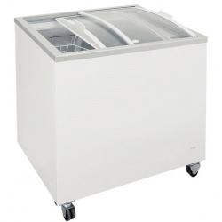 Congelator orizontal Klimaitalia FR 200 PAC / PAF, capacitate 158 l, temperatura -13 / -23°C, alb