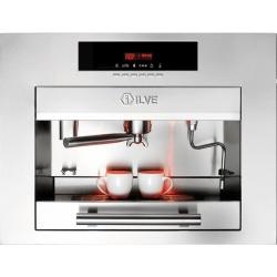 Automat de cafea încorporat ILVE Professional Plus ES645S 60x45 cm, rezervor apa, 1700 W, inox