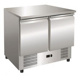 Masa rece salate Klimaitalia SALADETTE S 901, capacitate 166 l, temperatura +2 / +8 °C, argintiu