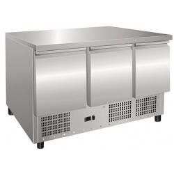 Masa rece salate Klimaitalia SALADETTE S 903 TOP, capacitate 249 l, temperatura +2 / +8 °C, argintiu