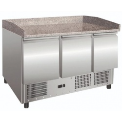 Masa rece salate/pizza Klimaitalia SALADETTE S 903 PZ, capacitate 249 l, temperatura +2 / +8 °C, argintiu