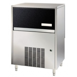 Aparat de facut cuburi gheata Klimaitalia MG 28 AZ Inox, capacitate 9 l, 260 W, 29kg/24h, Argintiu