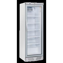 Vitrina frigorifica Cool Head TKG 388, Capacitate 350 L, 1 zona de temperatura +1° ~ +12°C, Alb