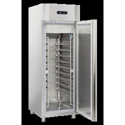 Frigider profesional Cool Head QPC 740, capacitate 550 L, temperatura +2°C/ +8°C , inox
