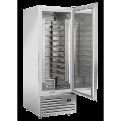 Frigider profesional Cool Head BYX 740S, capacitate 600 L, temperatura +2°C/ +8°C, inox