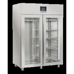 Vitrina frigorifica maturare carne, Cool Head QM 1500, cu 2 usi, capacitate 1500 L, temperatura -2°C/ +5°C, inox