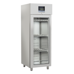 Vitrina frigorifica profesionala Cool Head QS 700, pentru branzeturi si salamuri, capacitate 700 L, temperatura 0°C/ +25°C, inox