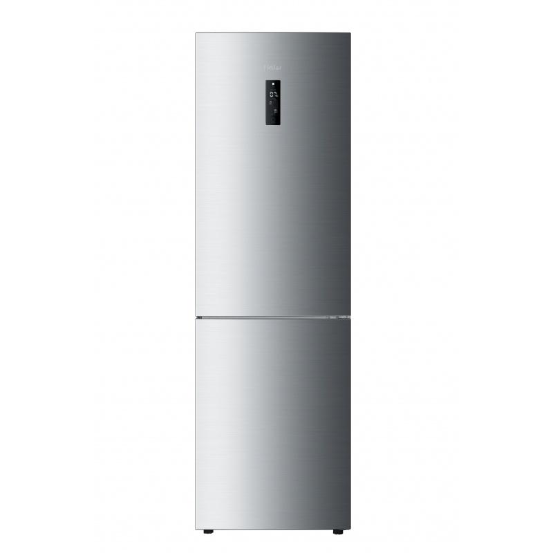 Combina frigorifica Haier C2FE736CFJ, A++, 276 kWh/an, 352 L, 104 L, argintiu