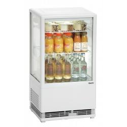 Mini vitrina frigorifica Bartscher 58 l alba