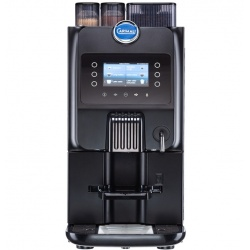 Automat de cafea Carimali Blue Dot 26 display 4K 2 rasnite racord apa direct la retea negru