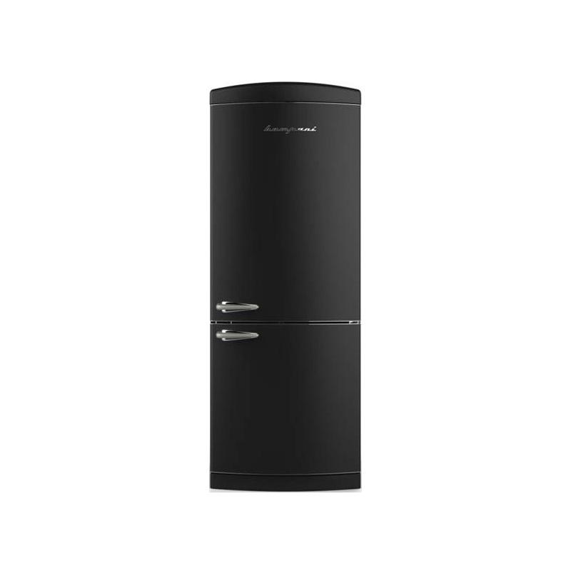 Combina Retro Bompani BOCB740/N, Clasa A+, 415 litri, Latime 70 cm, Negru