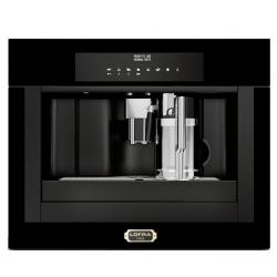 Automat de cafea incorporat LOFRA Dolcevita YRNM66T 60x45 cm, rezervor apa 2.5 lt, , program autocuratare, negru mat