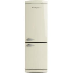 Combina frigorifica Retro Bompani BOCB675/C Clasa A+ 316 litri Latime 60 cm Crem