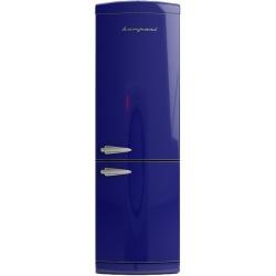 Combina frigorifica Retro Bompani BOCB662/B Clasa A+ 316 litri Latime 60 cm Albastru