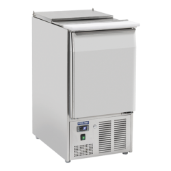 Frigider profesional Cool HeadCR 45A, capacitate 103 l, lungime 45 cm, temperatura 0/ +8°C, inox