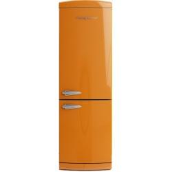 Combina frigorifica Retro Bompani BOCB660/A Clasa A+ 316 litri Latime 60 cm Portocaliu