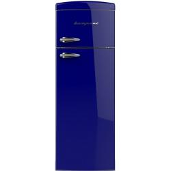 Frigider cu 2 usi Retro Bompani BODP268/B Clasa A+ 315 litri Latime 60 cm Albastru