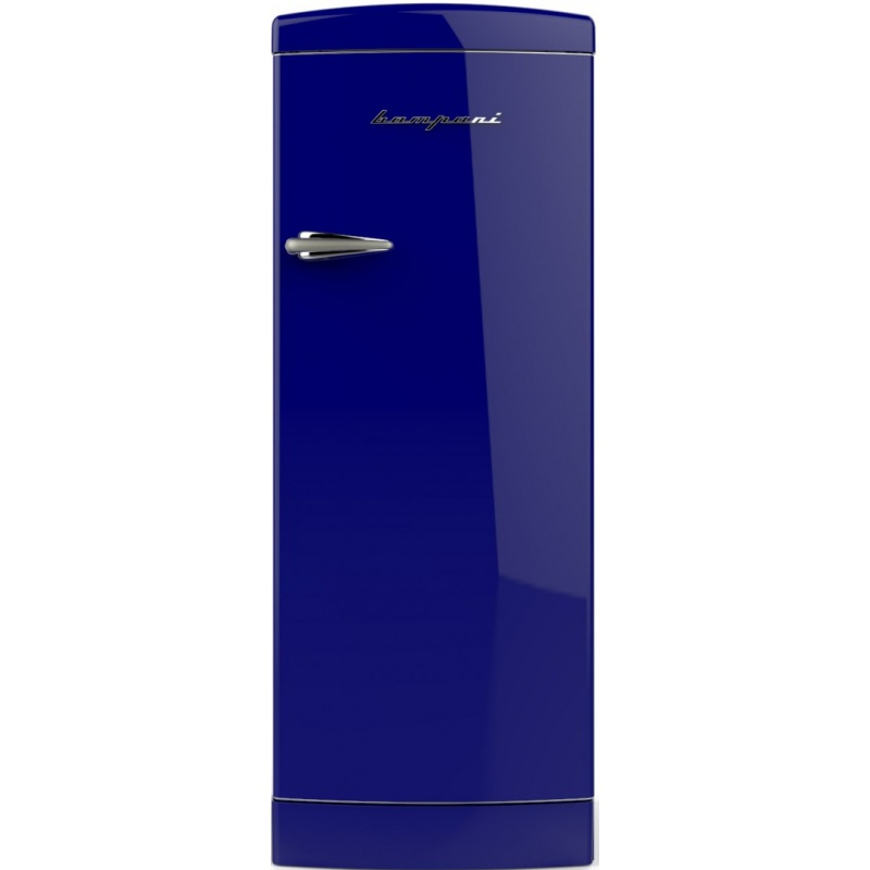 Frigider cu o usa Retro Bompani BOMP104/B Clasa A++ 275 litri Latime 60 cm Albastru