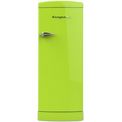 Frigider cu o usa Retro Bompani BOMP105/V Clasa A++ 275 litri Latime 60 cm Verde