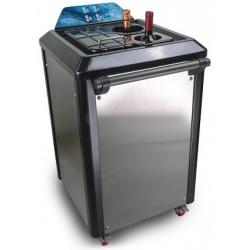 Abatitor Blast Chiller bauturi Ipindustrie ABT4, capacitate sticle 750 m 4, temperatura -32°C, argintiu
