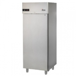 Frigider profesional ILsa Neos AN07Y6510 capacitate 700 l, cu inverter R600 FMC, temperatura -2° +8°C, inox