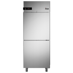 Frigider profesional ILsa Neos AN07Y2540 capacitate 700 l, 2 usi, temperatura -2° +8°C, inox