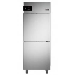 Frigider profesional ILsa Neos AN35X1500 capacitate 700 l, 2 usi, racire ventilata si statica, 2 zone temperatura -2° +8°C, inox