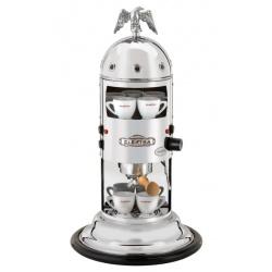 Automat de cafea Elektra Mini Verticale A1C semiautomatic 13kg Crom + bază din lemn neagra