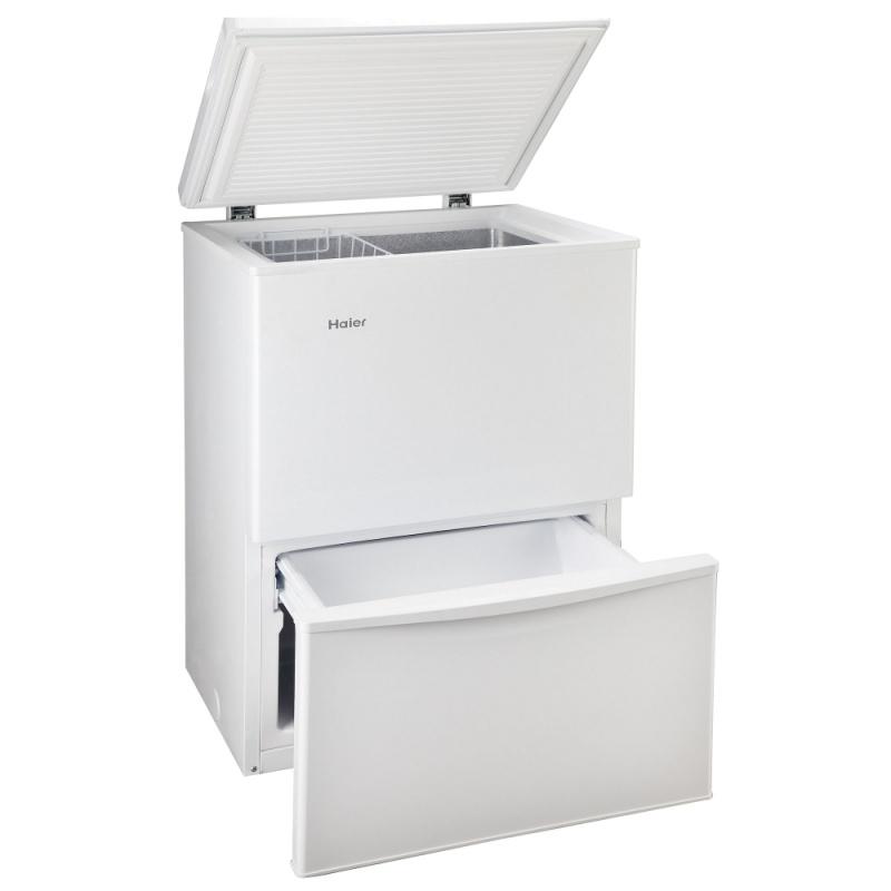 Lada frigorifica Haier LW-110R, 190 KWh/an, 110L, A+, alb