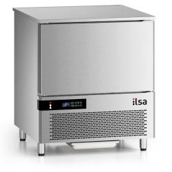 Abatitor Blast Shock Chiller Abatitor, ILsa Neos AB05N5010, capacitate 18 kg, 5 tavi, temperatura +90°/-18°C, inox