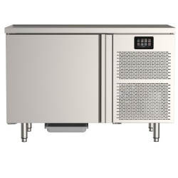 Masa rece pentru brutarie si patiserie, ILsa Neos PA TNPP2V1520, cu rebord, capacitate 293 l, temperatura -2° +8° C, inox