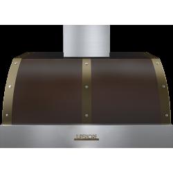 Hota perete Superiore HD36PBTMB DECO 36 ,1 motor, 900 m3/h, control electronic maro mat cu finisaje bronz