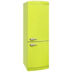 Combina frigorifica VonReiter RKGC 30085 RNFA ++ LG, 302 litri, clasa A++, 252 kWh/ an, Full No Frost, Verde lamaie