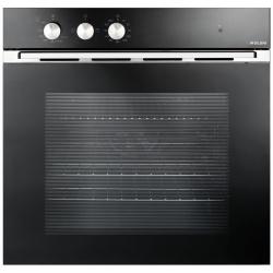 Cuptor incorporabil Glem Gas GFMF21BKN, 60cm, 65l, cuptor gaz, grill,3 functii, negru