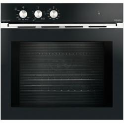 Cuptor mixt incorporabil Glem Gas GFEV21BK-S2, 60cm, 59l, electric / gaz ventilat, grill,8 functii, negru