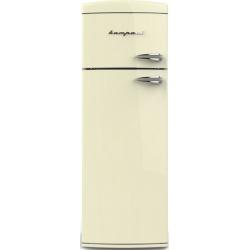 Frigider cu 2 usi Retro Bompani BODP615 / C Clasa A++ 310 litri deschidere usi stanga Crem